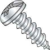 "#6 x 1-1/4"" Sheet Metal Screw - Combo Pan Head - Steel - Zinc Plated - Pkg of 100"