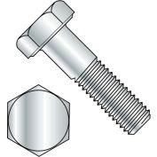 Hex Head Cap Screw - M8 x 1.25 x 80mm - Steel - Zinc Clear - Class 8.8 - DIN 933 - Pkg of 50