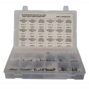 244 Pièces Feuille Metal (Tapping) Screw Assortment - #6 à #14 - Phillips Flat Head - 304 SS