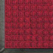 "WaterHog® Classic Entrance Mat Waffle Pattern 3/8"" Thick 4 x 8' Red/Black"