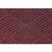Waterhog Classic Diamond Mat - Bordeaux 4' x 8'