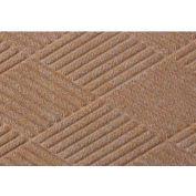 WaterHog™ Fashion Diamond Mat, Med Brown 4' x 8'