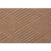Waterhog Fashion Diamond Mat - Med Brown 4' x 12'