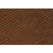 WaterHog™ Fashion Diamond Mat, Dark Brown 6' x 12'