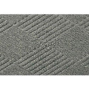 WaterHog™ Fashion Diamond Mat, Med Gray 4' x 6'