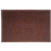 Waterhog Fashion Mat - Dark Brown 2' x 3'
