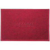 WaterHog™ Fashion Entrance Mat, Red/Black 3' x 12'