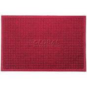 WaterHog™ Fashion Entrance Mat, Red/Black 6' x 16'
