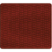 """Waterhog Cargo Mats with Traction Pattern, 31"""" x 27"""", Red/Black - 3905550003070"""