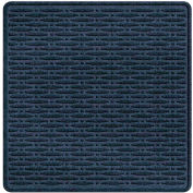 """Waterhog Cargo Mats with Traction Pattern, 36"""" x 35"""", Navy - 3906610003070"""