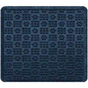 "Waterhog Cargo Mats with PawPrint Pattern, 31"" x 27"", Navy - 3907610003070"