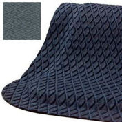 "Hog Heaven® Anti Fatigue Mat Fashion Border 5/8"" Thick 3' x 12' Gray"