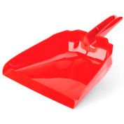 """Libman Commercial 13"""" Dust Pan - Red - 911 - Pkg Qty 6"""