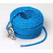 TRAC® Anchor Rope w/Shackle, 5mm x 100' - T10118