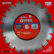 "14"" Quasar Speed-Kut 100 ""Silver"" Segmented Diamond Blade"