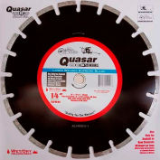 "14"" Quasar Speed-Kut 200 ""Silver"" Segmented Diamond Blade"
