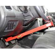 Equipment Lock Co. Wheel To Pedal Lock - Combo WPL-C