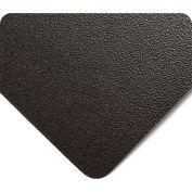 Wearwell Textured Kleen-Rite TPE Runner Black, 3/32in x 3ft x 75ft Full Roll