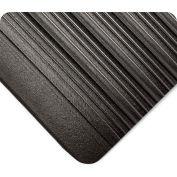 Wearwell Deluxe Tuf Sponge Black, 5/8in x 2ft x 3ft