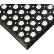 "Wearwell® WorkRite Anti Fatigue Mat 1/2"" Thick 3' x 20' Black"