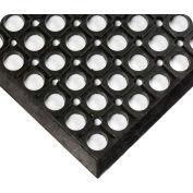Wearwell WorkRite Black, 1/2in x 3ft x 5ft