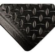 Wearwell SubStance Diamond Black, 1/2in x 2ft x 3ft