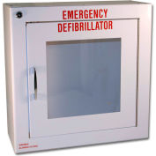 First Voice™ Compact Defibrillator/AED Surface-Mounted Wall Cabinet with Alarm