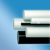 AIN plastiques acétal plastique tige Stock, 6-1/2 in.Dia. x 48 dans. L, noir