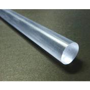 AIN plastiques 20% Polycarbonate tige Stock 4 po Dia 120 po L, naturel