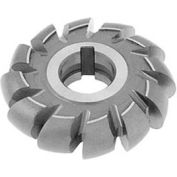 """HSS Import Convex Milling Cutter, 1-1/8"""" Circle DIA x 4"""" Cutter DIA x 1-1/4"""" Hole"""