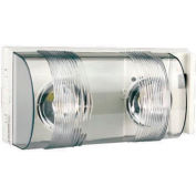 Emergi-Lite PRO-3N-LA-AD Escort Emergency Light - 6V, 2- 4W LED MR16 Lamps, w/ Diagnostics