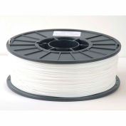 Toner Plastics Premium 3D Printer Filament, PLA, 1 kg, 1.75 mm, White