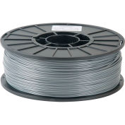 Toner Plastics Premium 3D Printer Filament, ABS, 1 kg, 1.75 mm, Silver