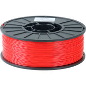 Toner Plastics Premium 3D Printer Filament, ABS, 1 kg, 1.75 mm, Red