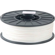 Toner Plastics Premium 3D Printer Filament, ABS, 1 kg, 3 mm, White