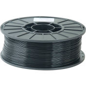 Toner Plastics Premium 3D Printer Filament, PLA, 1 kg,  3 mm, Black