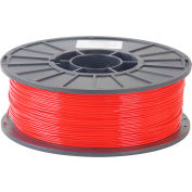 Toner Plastics Premium 3D Printer Filament, PLA, 1 kg, 3 mm, Red