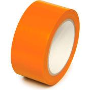 "Floor marquage ruban allée, Orange, 2"" W x 108' L rouleau, PST218"