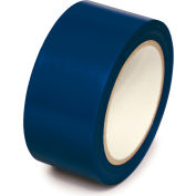 """Floor marquage ruban allée, bleu foncé, 2"""" W x 108' L rouleau, PST221"""
