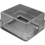 "TPI Plastic Thermostat Guard 3-3/4"" X 3-15/16"" X 1-3/4"" Opening TG4"