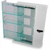 "TrippNT™ 52953 Element Healthcare Cart Oxygen Tank and Glove Box Module 19""W x 6""D x 24""H"