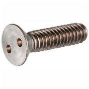 """10-24 x 1/2"""" vis de sécurité - clé à molette tête - en acier inoxydable 18-8 - FT - UNC - 100 Pk"""