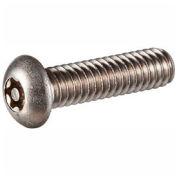 Vis mécanique de fixation, 3/8-16 x 5/8 po, tête ronde àempreinte hexalobée, acier inoxydable 302HQ, FT, UNC, 100/pqt