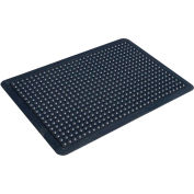 "Transforming Technologies FM5 ComfortDome ESD Anti-Fatigue Mat, 1"" Thick, 3' x 4', Black - FM53X4"