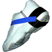 "Transforming Tech Heel Grounder, 1.25"" Cup, Self-Adhesive Straps1 Meg, Blue"