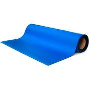 """Transforming Tech ESD Rubber Matting MT4530, 30""""x50'x0.080"""" - Royal Bl"""