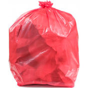 Transforming Technologies Conductive Trash Liners, 44 Gallon, 2 Mil, Pink, Pack of 50 - WBAS44-LP