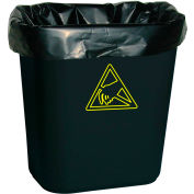 Transforming Tech Conductive Trash Liners WBASLB Black, 7-10 Gal