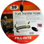 """Fill-Rite FRH07520, détail tuyau 3/4 """"x 20', conçu pour être utilisé avec toutes les pompes électriques"""