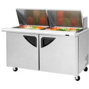 "Super Deluxe Series - Mega Top Sandwich/Salad Table 60-1/4""W - 2 Door"